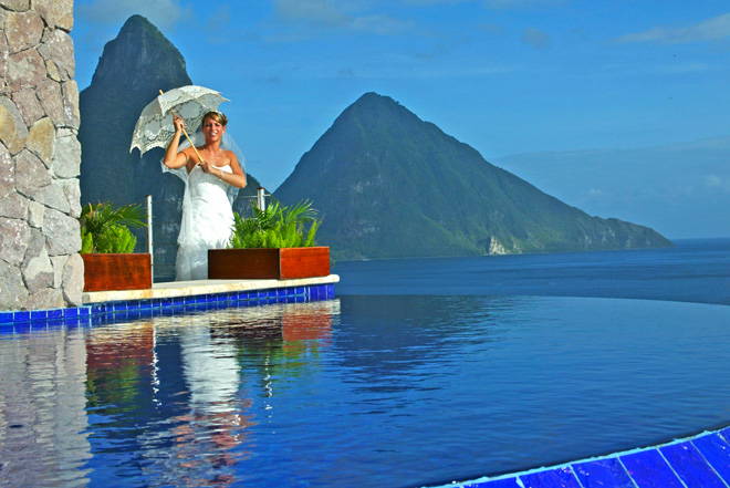 Destination Wedding In St Lucia Anse Chastanet Amp Jade