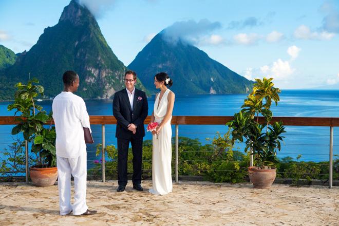 Destination Wedding In St Lucia