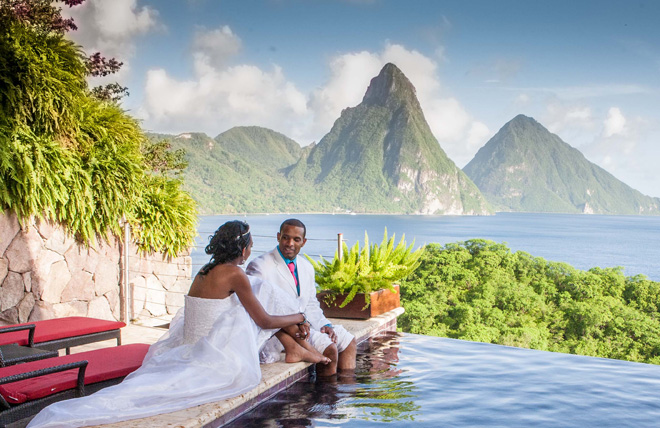 Destination Wedding In St Lucia Anse Chastanet Amp Jade