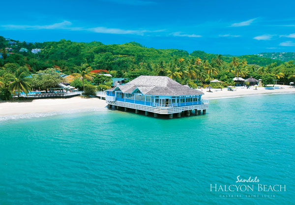 Sandals Halcyon Beach st Lucia Sandals Halcyon Beach st